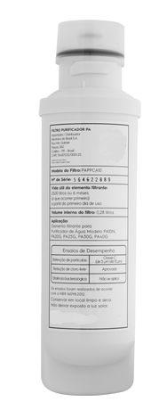 Filtro de Agua Compatível para Purificador Electrolux Mod: PE11B / PE11X / PC41B / PC41X / PH41B / PH41X