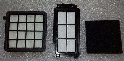 Kit de Filtros com HEPA para Aspirador Electrolux Easybox EASY1 e EASY2