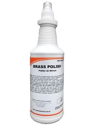 Polidor de Metais Brass Polish - 1L