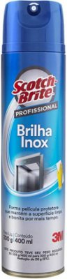 Brilha Inox 3M - 400ML