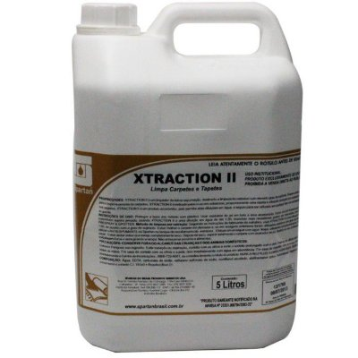Detergente para Carpetes Xtraction II de 5 litros