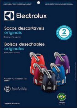 Sacos descartáveis para aspirador de pó Electrolux - Berry