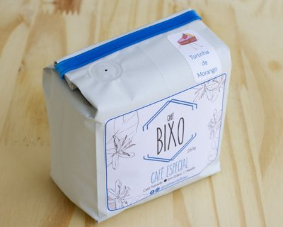 Pacote de café Bixo - Tortinha de morango 250g