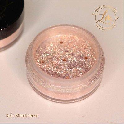 Glitter Monde Rose
