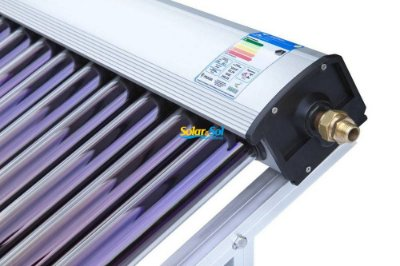 Coletor Solar a VÁCUO - 25 TUBOS - 500 litros Termomax