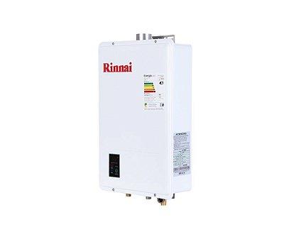 Aquecedor a Gás Rinnai REU-1602 FEH - GN - 22,5 L/min