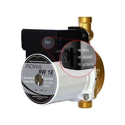 Pressurizador Rowa Rw 12 - Bronze 220v