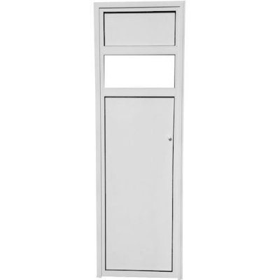 Porta P/ Sauna Aluminio Direita Branca Stylus