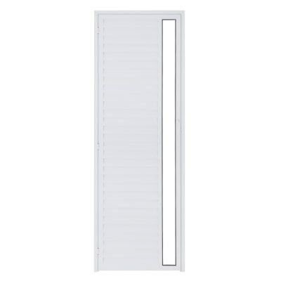 Porta P/ Sauna Aluminio Esquerda SOCALOR Branca