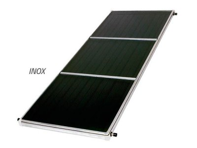 Placa Solar - INOX 1,5x1 c/ ROSCA / Center Sol