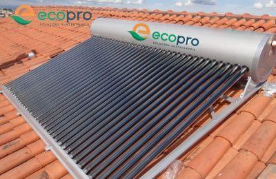 Aquecedor Solar Acoplado - 36 tubos ECOPRO / INMETRO A