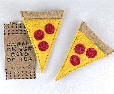 Brinquedo Pizza Cansei de Ser Gato de Rua