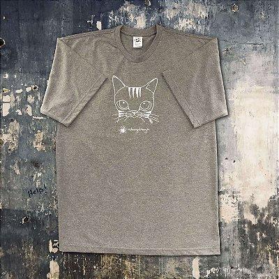 Camiseta Unissex Cinza