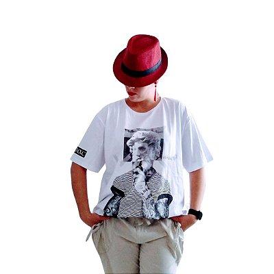 Camiseta o pensador branca