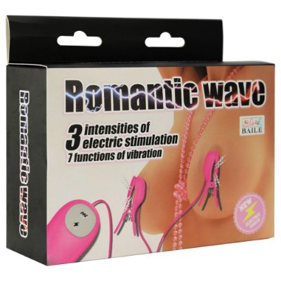 ESTIMULADOR DE MAMILOS CHOQUE ROMANTIC WAVE