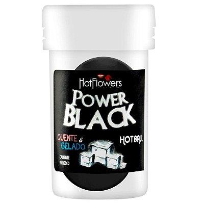 BOLINHA BEIJÁVEL POWER BLACK 02 UNIDADES