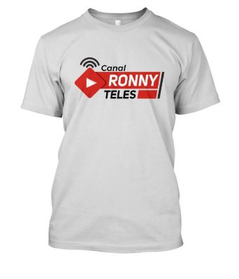 Camiseta masculina Canal Ronny Teles