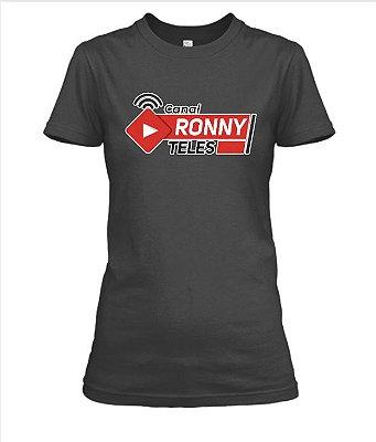 Camiseta feminina Canal Ronny Teles