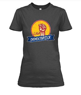 Camiseta feminina Liga Democrática