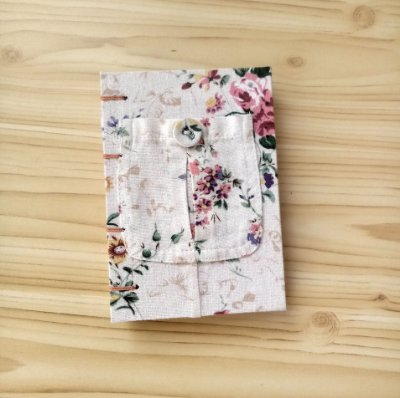 Caderno Pequeno Flores(ser)2021