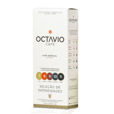 Café em Cápsulas Octavio Seleção de Intensidades com 10 unidades
