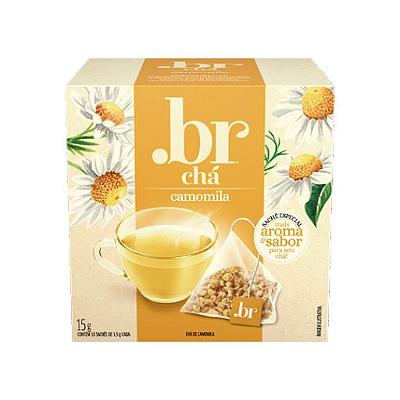 Chá de Camomila .br com 10 Sachês