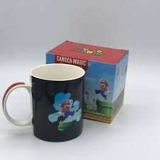 Caneca Magic 300ml Mario Cenario