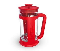 Cafeteira French Press Smart Bialetti Vermelha 1 litro