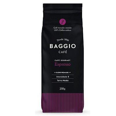 Café Gourmet Espresso Torrado e Moído Baggio 250g
