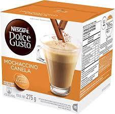 Nescafé Dolce Gusto, Mochaccino canela com 16 Cápsulas