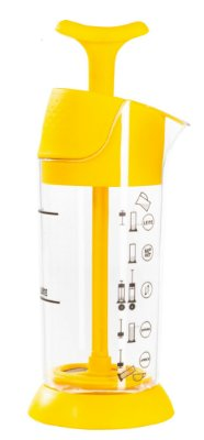 Espumador de leite Amarelo