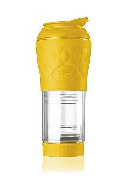 Cafeteira Pressca Amarelo 350 ml