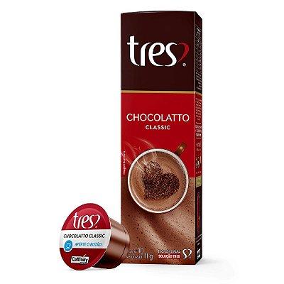 Chocolatto Classic três com 10 unidades