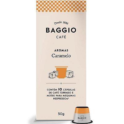 Café Baggio Aromas Caramelo em cápsulas 10 unidades
