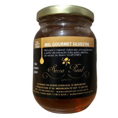 Mel Gourmet Silvestre Serra Real 330g