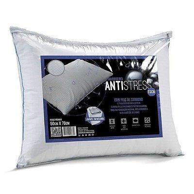 Travesseiro  Altenburg  Antistress 50cm x 70cm Branco