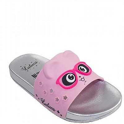 Chinelo Slide Infantil Grendene Kids Luluca Trend Fun Menina