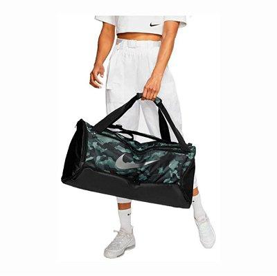 Bolsa Nike Brasilia Aop 9.0 Estampa Camuflada