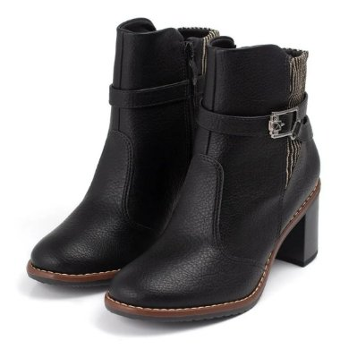 Bota Ankle Boot Piccadilly Maxitherapy Extra Conforto