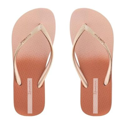 Chinelo Tiras Blush Borracha Rosa Ipanema