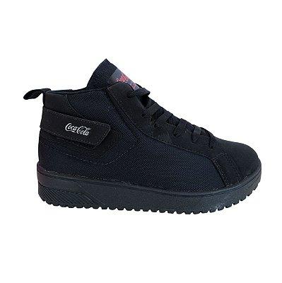 Tênis Coca-Cola Shoes Lander All Black CC1815
