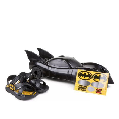 Chinelo Infantil Grendene Kids Batman Batmovel