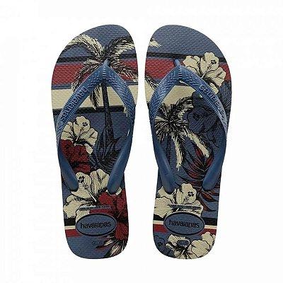 Chinelo Havaianas Aloha Masculino - Azul