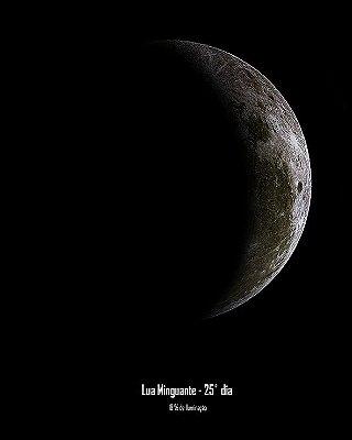 FOTO LUNAR - 1 LUA - ARQUIVO DIGITAL
