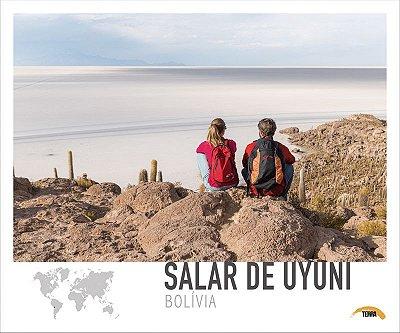 Pôster Salar de Uyuni - Bolívia - 70cm x 60cm