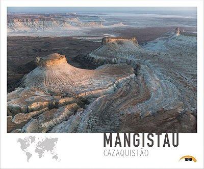 Pôster Mangistau - Cazaquistão - 70cm x 60cm