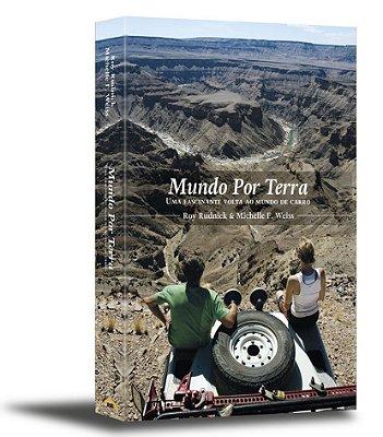 Livro de aventura Mundo por Terra - Uma fascinante volta ao mundo de carro (Brochura)