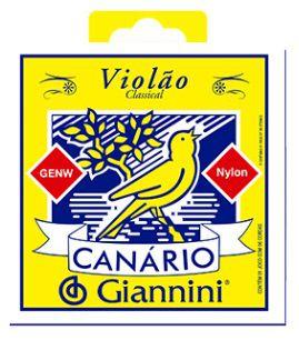 Encordoamento Giannini Canario Violão Nylon - Média Sem Bolinha