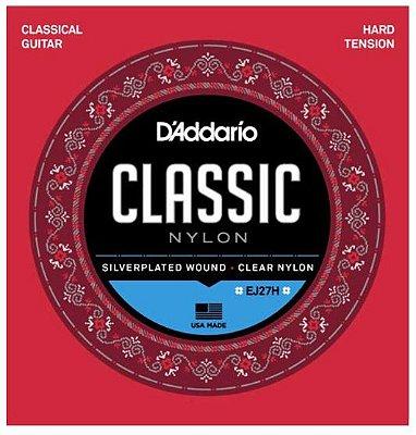 Encordoamento D'Addario Nylon Classical Tensão Alta - EJ27H