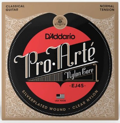 Encordoamento D'Addario Nylon Pro Arte Normal Tension - EJ45